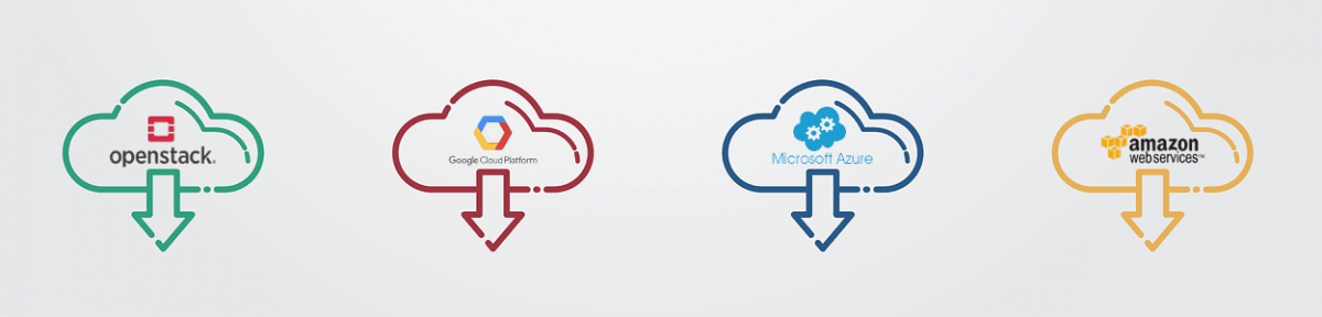 Multi-cloud or multicloud solutions integrate multiple clouds - google cloud platform, amazon web services, microsoft azure and even private cloud solutions like openstack.