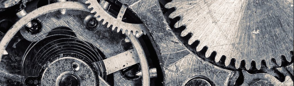 Gears as a representation of continuous integration and continuous delivery and continuous deployment